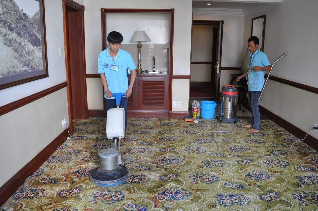 Công ty giặt thảm tại nhà Hà Nội