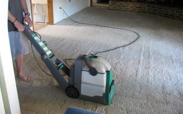 Giặt thảm khô