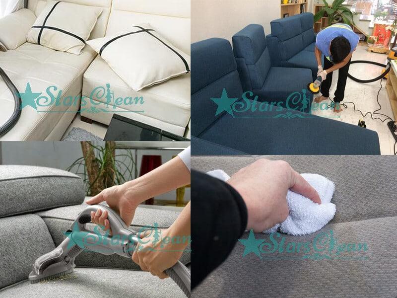 cách làm sạch ghế sofa vải hiệu quả tại nhà
