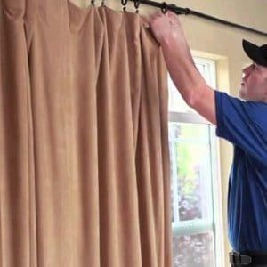 Dịch vụ giặt rèm cửa tại nhà