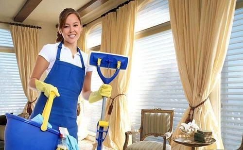 Giặt rèm cửa tại nhà