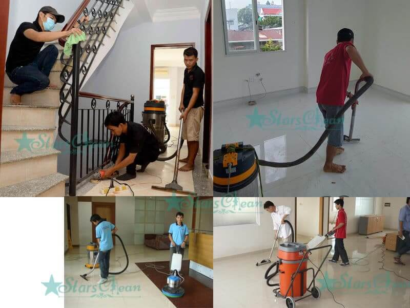 Dịch vụ vệ sinh chung cư giá rẻ