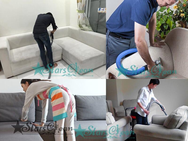 Những cách làm sạch ghế sofa nỉ