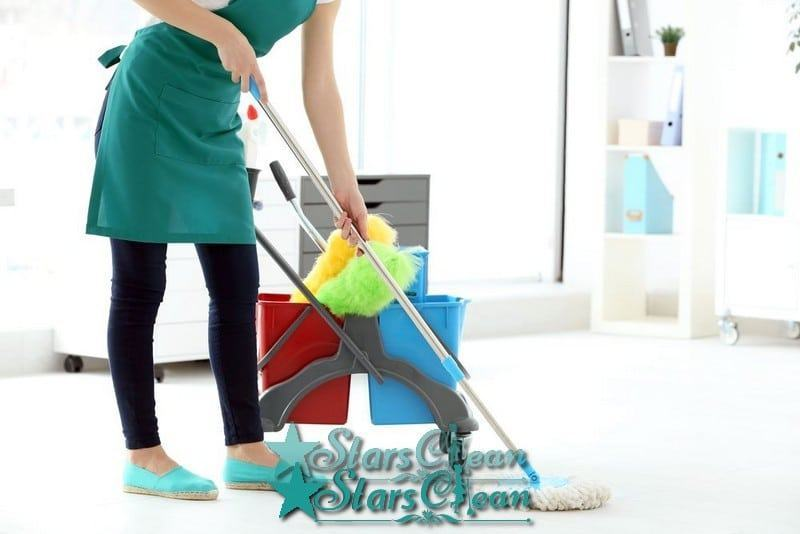 cách lau nhà không bị tanh