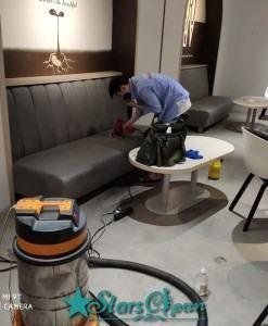 dịch vụ giặt ghế văn phòng