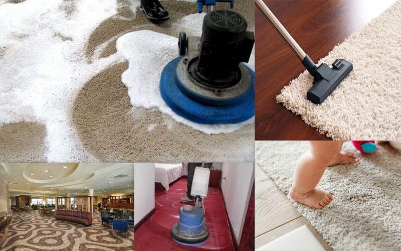 Vệ sinh thảm lót sàn sao cho hiệu quả?