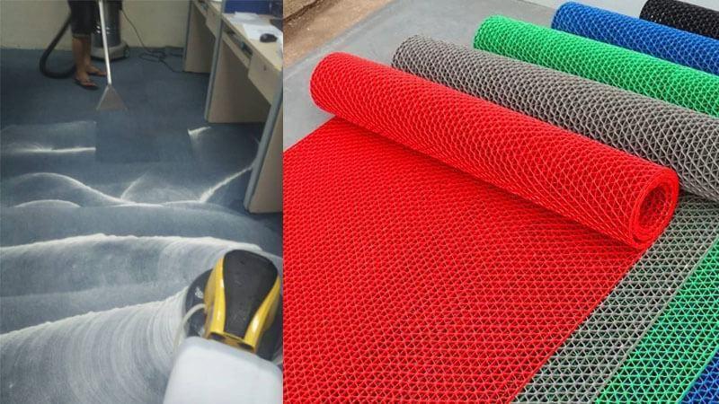 Tính tiện lợi của thảm nhựa trải sàn