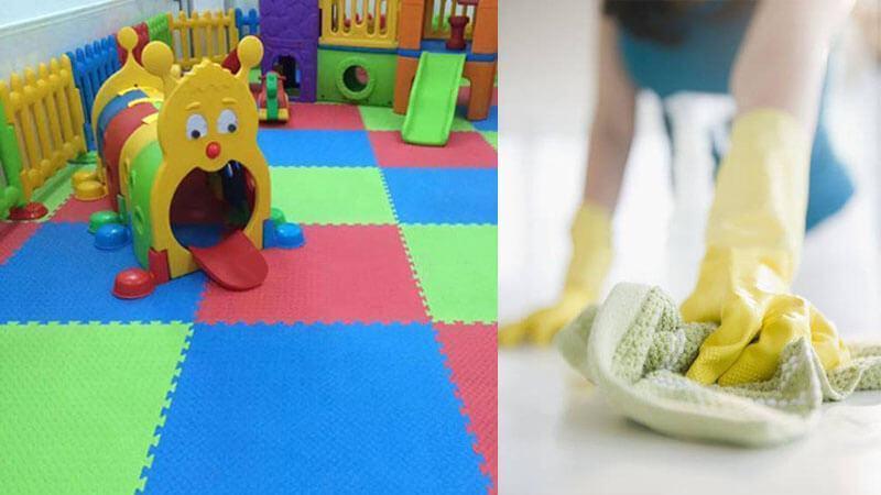 Tại sao cần vệ sinh thảm xốp thường xuyên?
