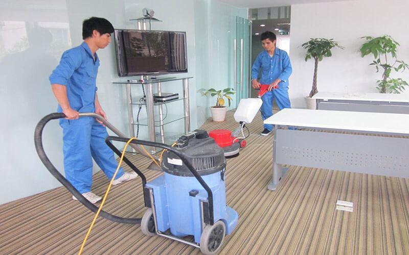 Dịch vụ vệ sinh thảm nhựa chuyên nghiệp Starsclean