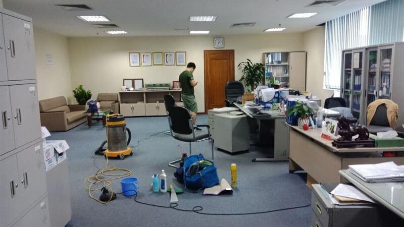 Vệ sinh thảm văn phòng Starsclean