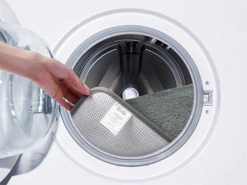 Kết hợp sử dụng máy giặt trong việc làm sạch thảm