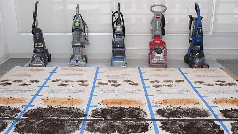 Máy giặt thảm hơi nóng các loại