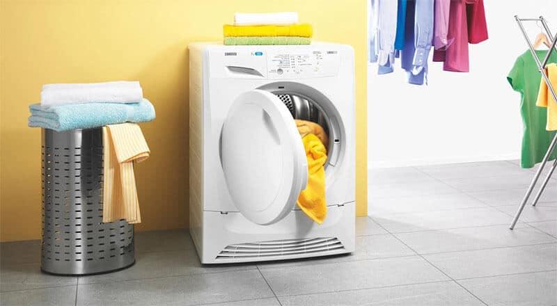 Dễ dàng làm sạch thảm trải giường bằng máy giặt